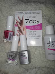 at home gel nails review u2013 depend 7day hybrid polish system