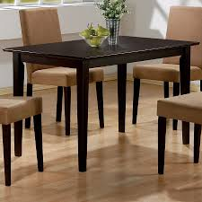 Wooden Dining Table Furniture Shop Coaster Fine Furniture Clayton Wood Dining Table At Lowes Com