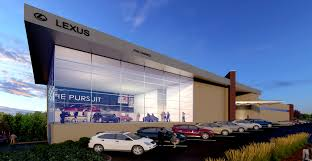 lexus dealership design rendering of the week by xr3d studios