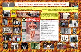 happy 75th birthday bill seno iron man magazine