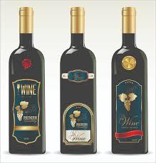 vector wine bottle label free vector 9 172 free vector