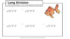 math long division lessons tes teach