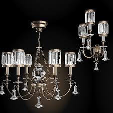 Chandelier Wall Sconce Art Lamps 3d Max