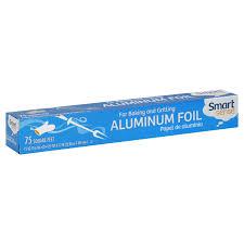 smart sense aluminum foil 75 sq ft 1 roll