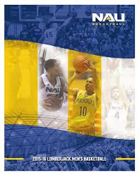 2015 16 northern arizona men u0027s basketball guide by nau athletics