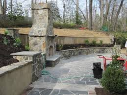 Best  Stone Patio Designs Ideas On Pinterest Paver Stone - Patio wall design