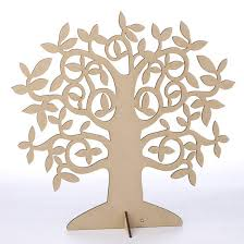 laser cut wood tree centerpiece wood cutouts unfinished wood