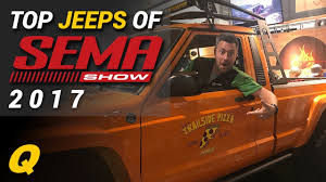 2017 sema jcr offroad orange top jeep builds of sema 2017 youtube