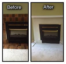 60 fireplace diy facelift i have done this myself in just over