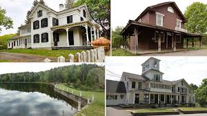 Connecticut Ghost Town Be Afraid A Ghost Town Haunts This Week U0027s Most Popular Homes