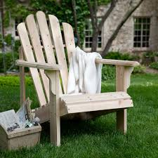 coral coast hubbard unfinished wooden adirondack chair hayneedle