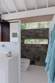 small tropical style beach house opens the world outside small beach house view gallery stone accent wall the bathroom
