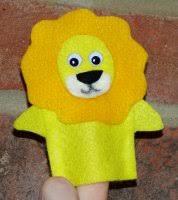 lion puppet lionfingerpuppet jpg