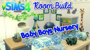 Baby Boy Nursery The Sims 4 Room Build Baby Boy U0027s Nursery Youtube