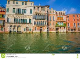 venice italy june 18 2015 traditional houses in venice it