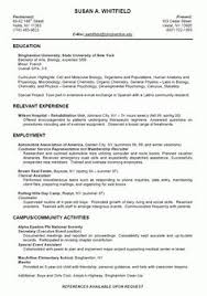 Sample Resume Format For Students by Resume Template For College Students Http Www Resumecareer