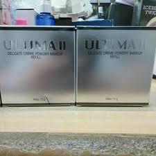 Bedak Ultima Ii Clear White ultima ii clear white 2 way foundation refil 10gr 03