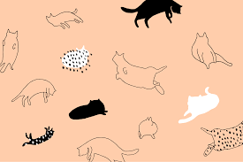 wallpaper cat illustration these cat and corgi desktop and smartphone wallpapers will give you