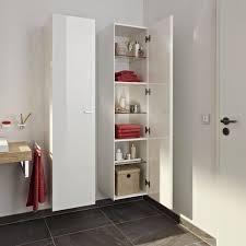 elegant functional designs of bathroom wall storage cabinets