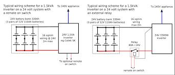inverter remote control wiring diagram on inverter download