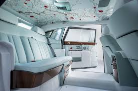 roll royce interior rolls royce phantom serenity unveiled video