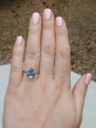 size 6 engagement ring 3 5ct pear 12x8mm on a size 6 finger baubles bling