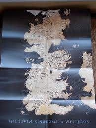 7 Kingdoms Map Excuse Me While I Fangirl Game Of Thrones Dvd