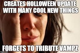 Server Meme - halloween update meme hypixel minecraft server and maps