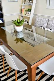 Glass Top For Dining Room Table Best 25 Glass Dining Room Table Ideas On Pinterest Glass Dining