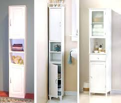 Narrow Cabinet Bathroom by Maine Narrow Tall Freestanding Bathroom Cabinet With 6 Drawers