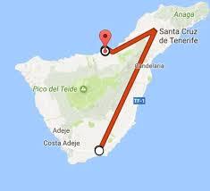 Canary Islands Map Tenerife Canary Islands Exploring Tenerife U0027s Colours U2014 The