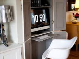 armoire bureau informatique gain de place créer votre bureau dans une armoire par decocrush