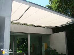Modern Awnings Modern Retractable Awning 02 Awnings U0026 Signs Unlimited South