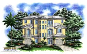 three story home plans port antigua home plan weber design naples fl