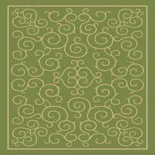 Green Outdoor Rug 8 X 10 Flame Retardant Outdoor Rugs Rugs The Home Depot