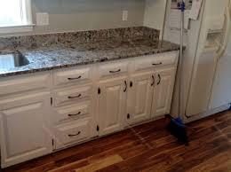 granite countertop limed oak kitchen cabinets santa cecilia