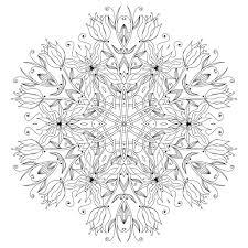 mandala smooth flowers vegetal patterns color epic22