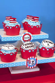 3d Hole Murals 3d Cake Image The Party Wall Cat In The Hat Inspired Birthday