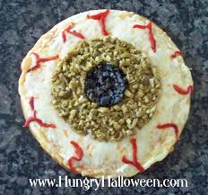 halloween appetizers shaped like eyes hungry happenings