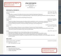 Umich Resume Builder Builder Resume Resume Template Custom Online Profile Sample