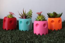 succulent planter ghost planter succulent planter air planter many colors