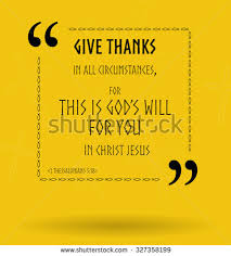 best bible quotes about being thankful stock vector 327358199