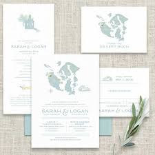 wedding invitations island juan island wedding invitations roche friday harbor