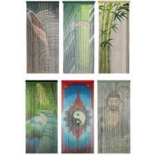 rideau de de porte moustiquaire bambou feng shui zen