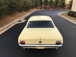 1965 yellow mustang 1965 ford mustang 289 v8 clean pony from the south reliable