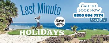 last minute holidays escapes travel