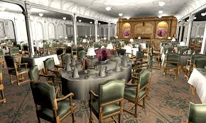 titanic first class dining room titanic 1st dining saloon ii by hudizzle on deviantart