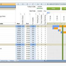 excel construction schedule templates pertaining to construction