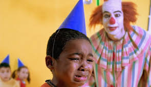clowns for birthday party to do list buy balloons make food rent evil clown