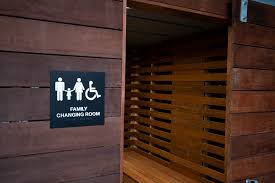 Family Changing Room There Are Two Of These Wonderful Over Flickr - Family changing room